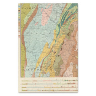 Geological Map of New Hampshire 2 Tissue Paper