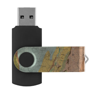 Geological Map of New Hampshire 2 USB Flash Drive