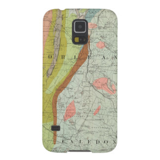 Geological Map of New Hampshire 3 Galaxy S5 Cover