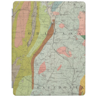 Geological Map of New Hampshire 3 iPad Cover