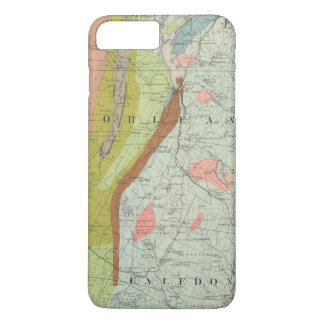 Geological Map of New Hampshire 3 iPhone 7 Plus Case