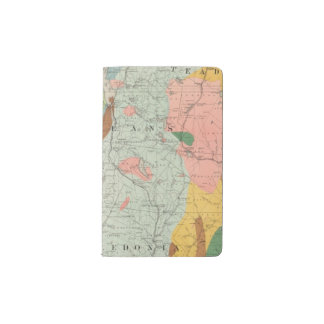 Geological Map of New Hampshire 3 Pocket Moleskine Notebook