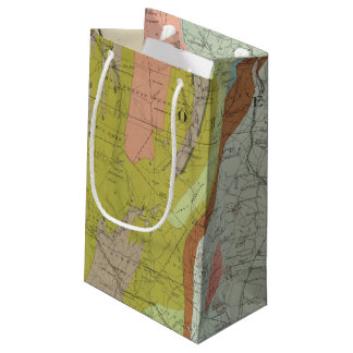 Geological Map of New Hampshire 3 Small Gift Bag