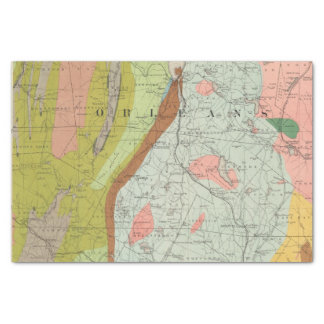 Geological Map of New Hampshire 3 Tissue Paper