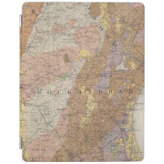 Geological Map of New Hampshire 4 iPad Cover