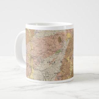 Geological Map of New Hampshire 4 Large Coffee Mug