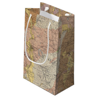 Geological Map of New Hampshire 4 Small Gift Bag