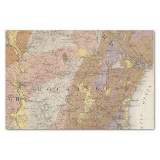 Geological Map of New Hampshire 4 Tissue Paper