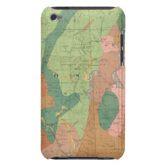 Geological Map of New Hampshire 5 iPod Case-Mate Case