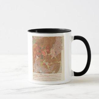 Geological Map of New Hampshire Mug