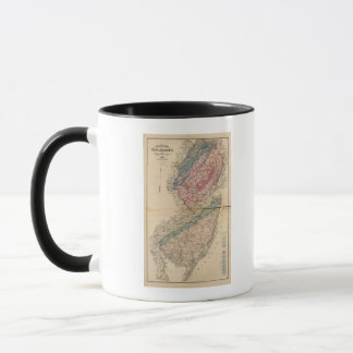 Geological map of New Jersey Mug