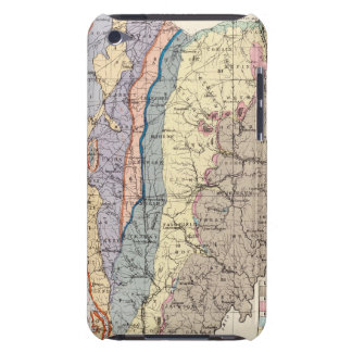 Geological map of Ohio Barely There iPod Cover