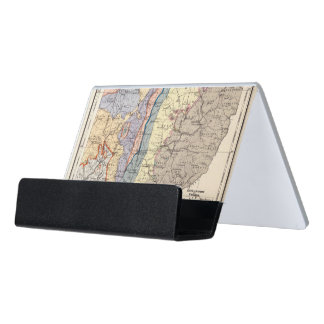 Geological map of Ohio Desk Business Card Holder