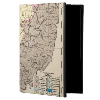 Geological map of Ohio iPad Air Cover