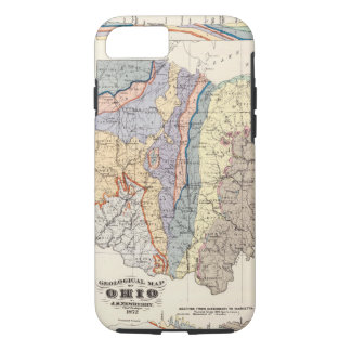 Geological map of Ohio iPhone 8/7 Case