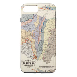 Geological map of Ohio iPhone 8 Plus/7 Plus Case