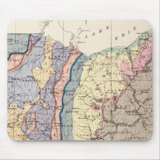 Geological map of Ohio Mouse Pad