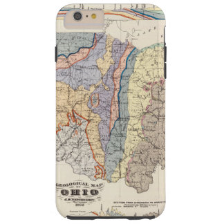 Geological map of Ohio Tough iPhone 6 Plus Case