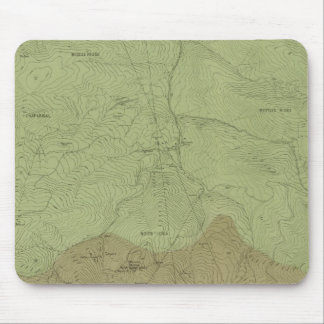 Geological Map of the New Idria District Mouse Pad