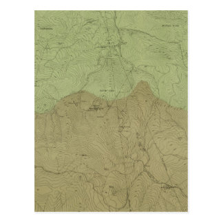 Geological Map of the New Idria District Postcard
