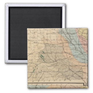Geological map of the State of Iowa Magnet