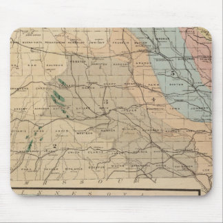 Geological map of the State of Iowa Mouse Mat