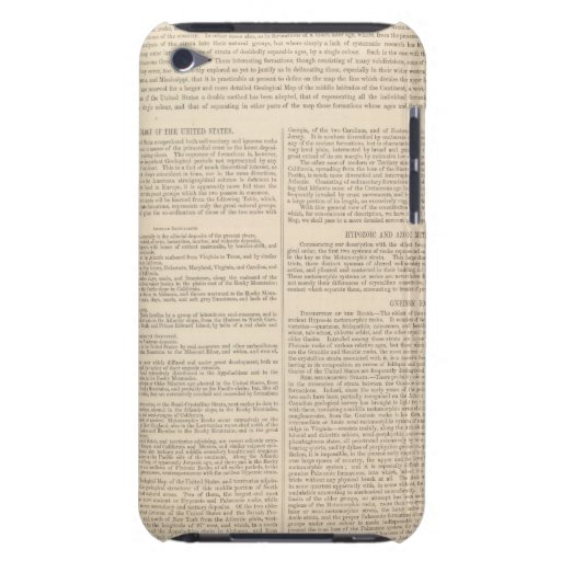 Geological Map of the United States 2 iPod Touch Covers