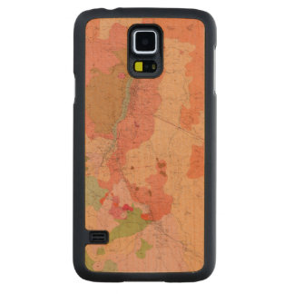 Geological Map of the Washoe District Carved Maple Galaxy S5 Case