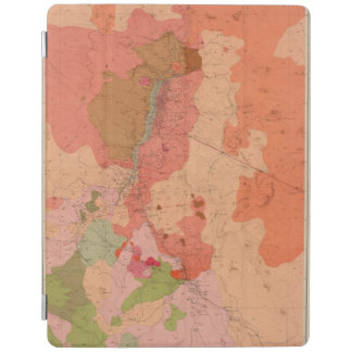 Geological Map of the Washoe District iPad Cover