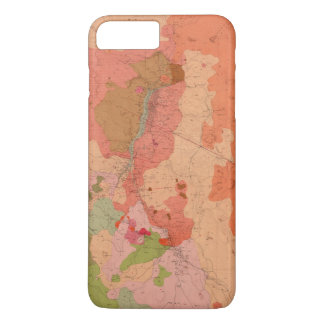 Geological Map of the Washoe District iPhone 8 Plus/7 Plus Case
