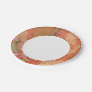Geological Map of the Washoe District Paper Plate