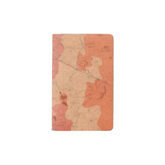 Geological Map of the Washoe District Pocket Moleskine Notebook