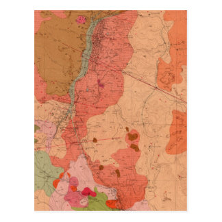Geological Map of the Washoe District Postcard