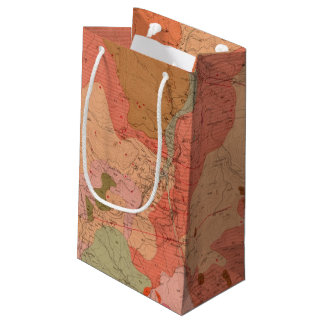 Geological Map of the Washoe District Small Gift Bag
