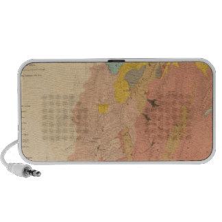Geological map of Utah Notebook Speakers