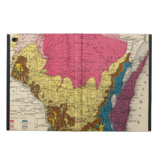 Geological map of Wisconsin