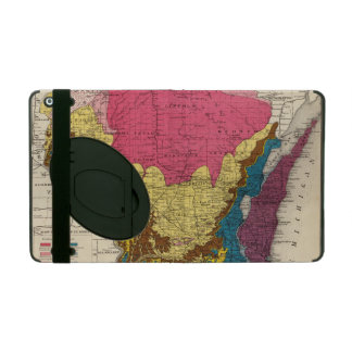 Geological map of Wisconsin Cover For iPad