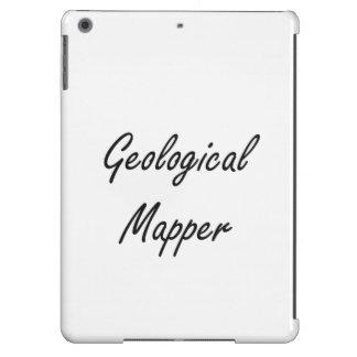 Geological Mapper Artistic Job Design iPad Air Cases