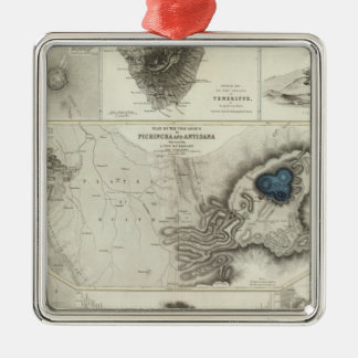 Geological phenomena christmas ornament