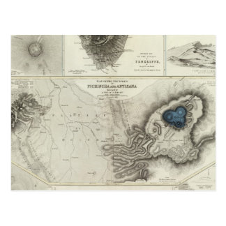 Geological phenomena postcard