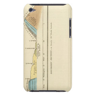 Geological sections of United States Barely There iPod Cases