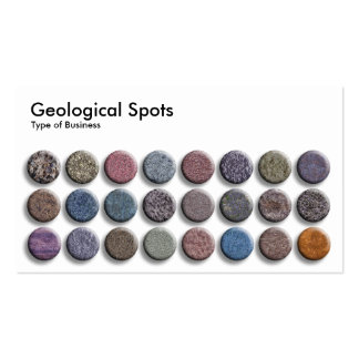 Geological Spots 02 Business Card Templates