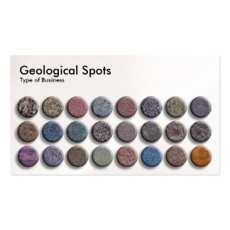 Geological Spots 02 - Pearl Business Card Template