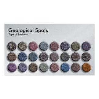 Geological Spots 02 - Platinum Business Card