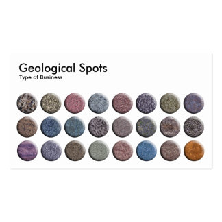 Geological Spots Business Cards