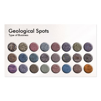Geological Spots - Pearl Business Card Template