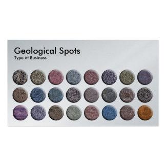 Geological Spots - Platnum Business Cards