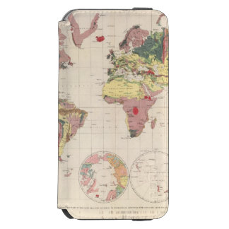 Geological structure of globe incipio watson™ iPhone 6 wallet case