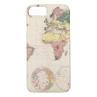 Geological structure of globe iPhone 8/7 case