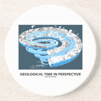 Geological Time In Perspective (Earth's History) Coasters